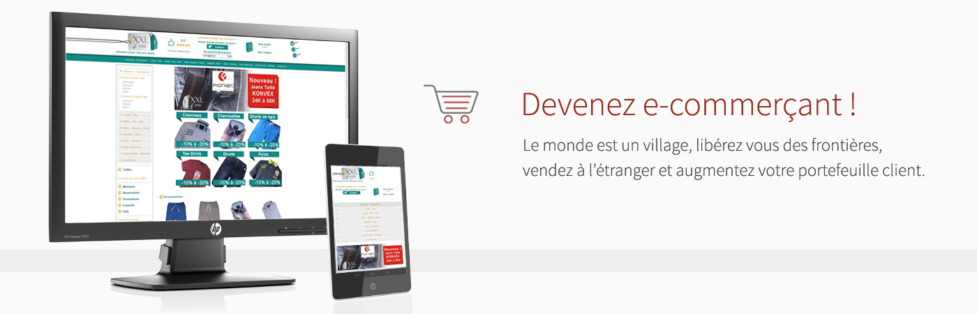 Passez a un magasin e-commerce